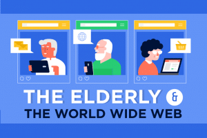 The Elderly and the World Wide Web (Infographic)