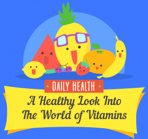 A Healthy Look Into the World of Vitamins (Infographic)