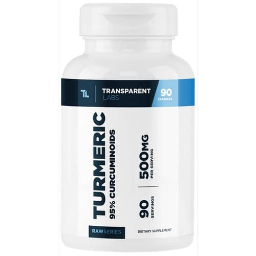 transparent labs turmeric review