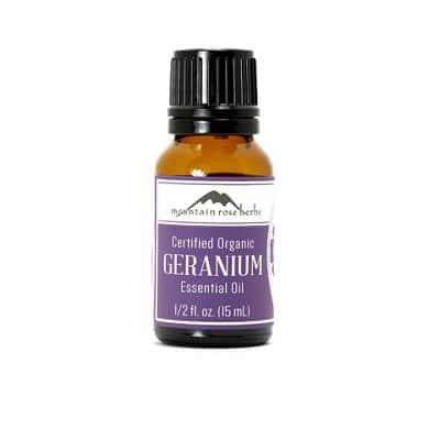 Mountain Rose Herbs' Geranium Review
