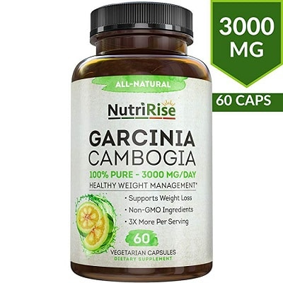 NutriRise's 100% Pure Garcinia Cambogia Extract with HCA Review