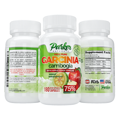 Parker Naturals' All Natural Garcinia Cambogia with Apple Cider Vinegar Review