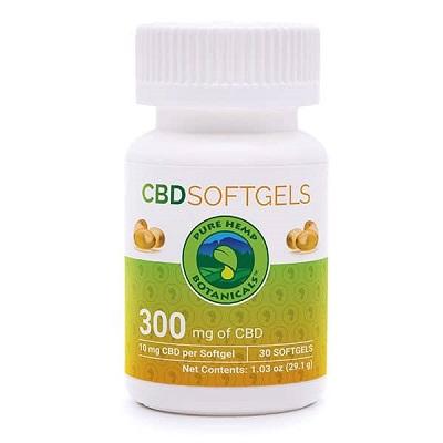 Pure Hemp Botanicals CBD Soft Gels Review