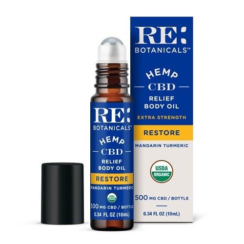 RE Botanicals Extra Strength Relief Body Oil – Mandarin Turmeric Review