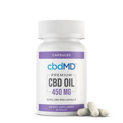 cbdMD CBD Capsules Review