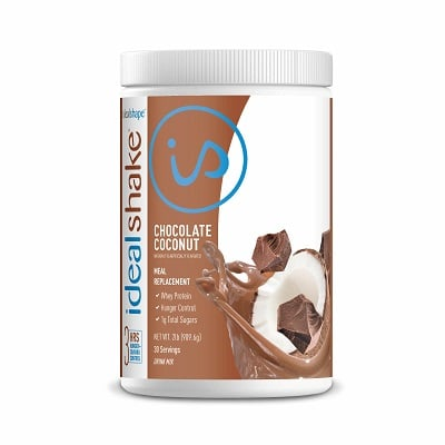 IdealShake Chocolate Coconut