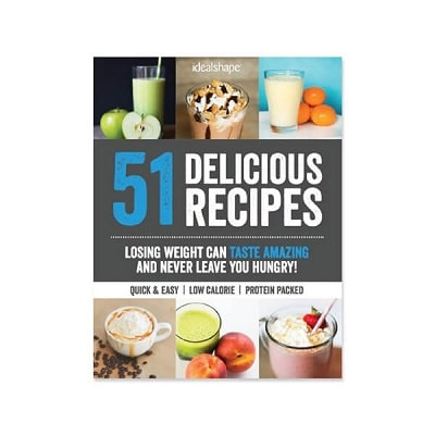 IdealShape ebooks (several different books on weight loss, gut health, and healthy recipes