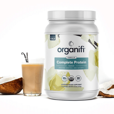 Organifi Delicious Vanilla Protein