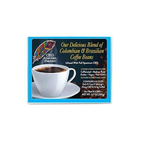 Best CBD Coffee - CBD American Shaman CBD Coffee Review