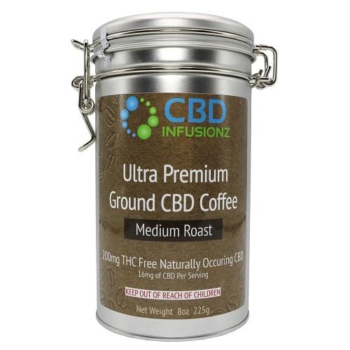 Best CBD Coffee - CBD Infusionz Premium Hemp CBD Coffee Review