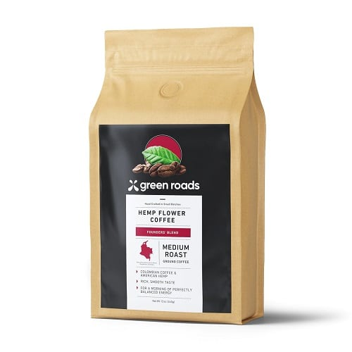 Best CBD Coffee - Green Roads Founders' Blend Hemp Flower Coffee Review
