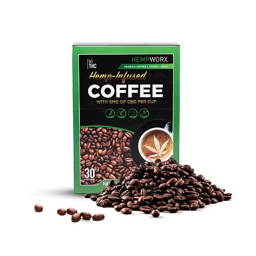 Best CBD Coffee - HempWorx Hemp-Infused Coffee Review