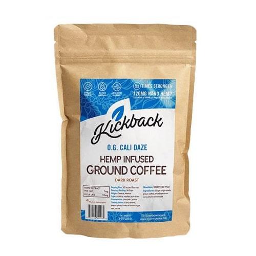 Best CBD Coffee - Kickback Hemp-Infused Cali Daze Coffee Review