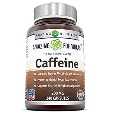 Best Caffeine Pills - Amazing Formulas Caffeine Capsules Review