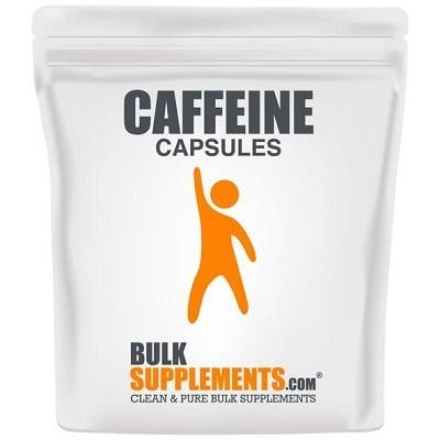 Best Caffeine Pills - BulkSupplements Caffeine Capsules Review