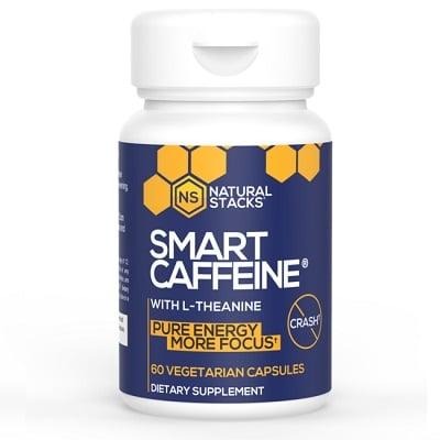 Best Caffeine Pills - Natural Stacks Smart Caffeine Review