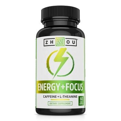Best Caffeine Pills - Zhou Energy + Focus Review