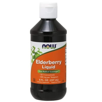 Best Elderberry Syrup - NOW Foods Elderberry Liquid Review