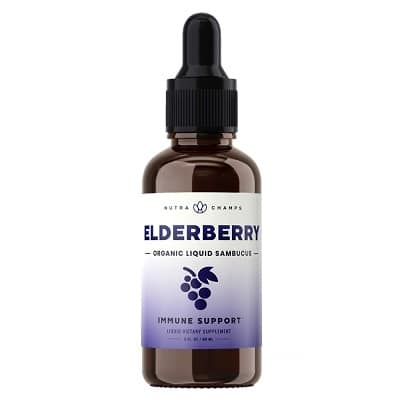 Best Elderberry Syrup - Nutrachamps Elderberry Liquid Drops Review