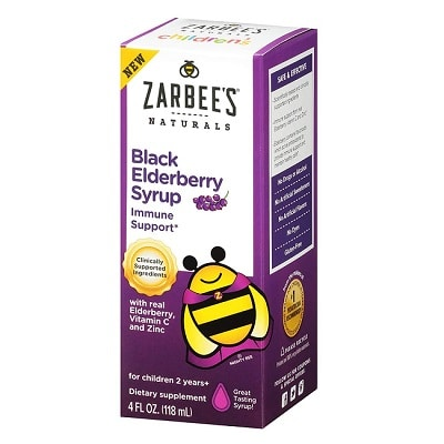 Best Elderberry Syrup - Zarbee's Children's Black Elderberry Syrup Review
