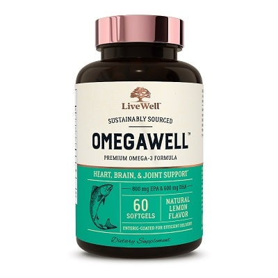 Best Fish Oil - LiveWell Labs OmegaWell Review