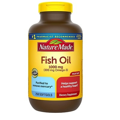 Best Fish Oil - Nature Made Fish Oil Review