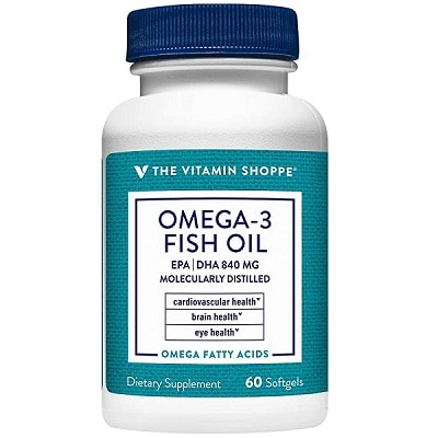Best Fish Oil - The Vitamin Shoppe Omega-3 Fish Oil Review