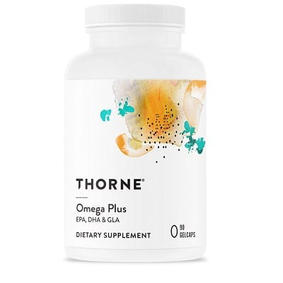Best Fish Oil - Thorne Omega Plus Review