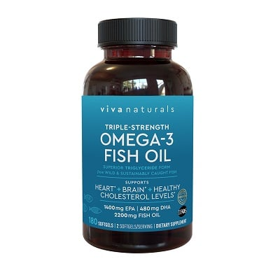 Best Fish Oil - Viva Naturals Omega-3 Fish Oil Review