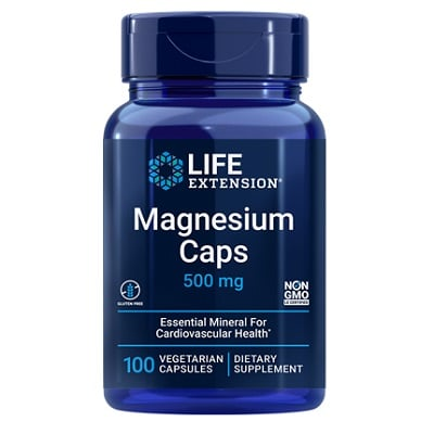 Best Magnesium Supplements - Life Extension Magnesium Caps Review