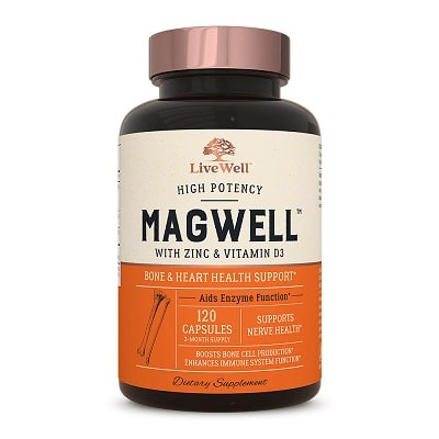 Best Magnesium Supplements - LiveWell MagWell Magnesium And Zinc Review
