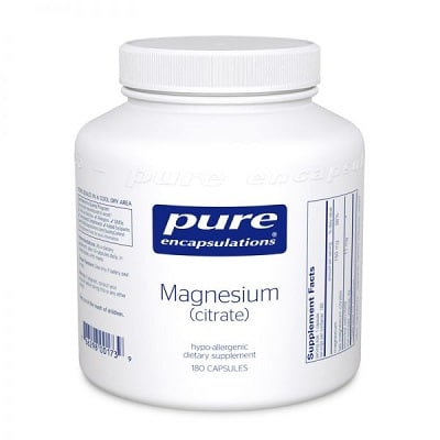 Best Magnesium Supplements - Pure Encapsulations Magnesium Citrate Review