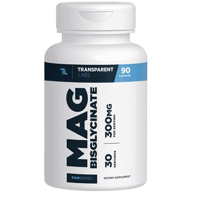 Best Magnesium Supplements - TransparentLabs RawSeries Magnesium Bisglycinate Review
