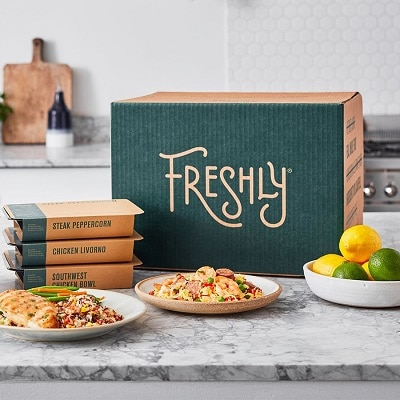 Best Meal Delivery Services - Freshly Review