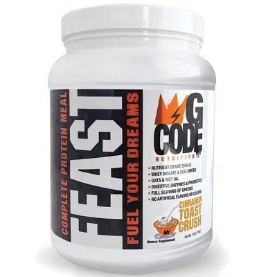 Best Meal Replacement Shake - GCode Nutrition Feast Review