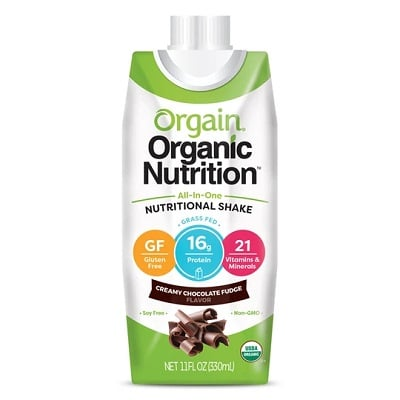 Best Meal Replacement Shake - Orgain Grass-Fed All-In-One Nutritional Shake Logo