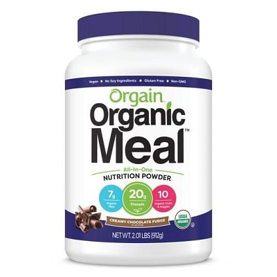 Best Meal Replacement Shake - Orgain Organic Plant-Based Meal Replacement Powder Review