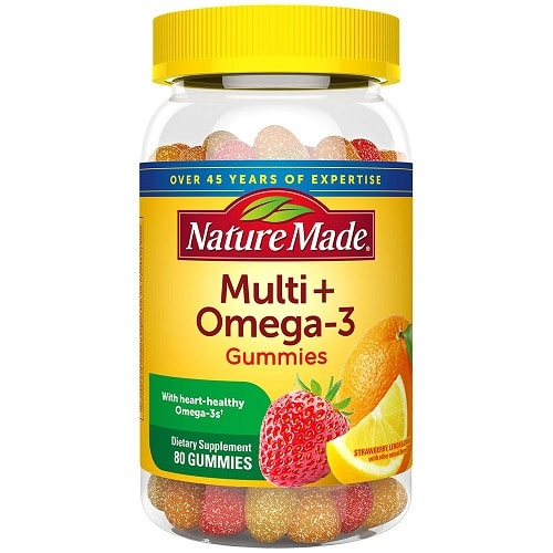 Best Multivitamin - Nature Made Multi + Omega-3 Gummies Review