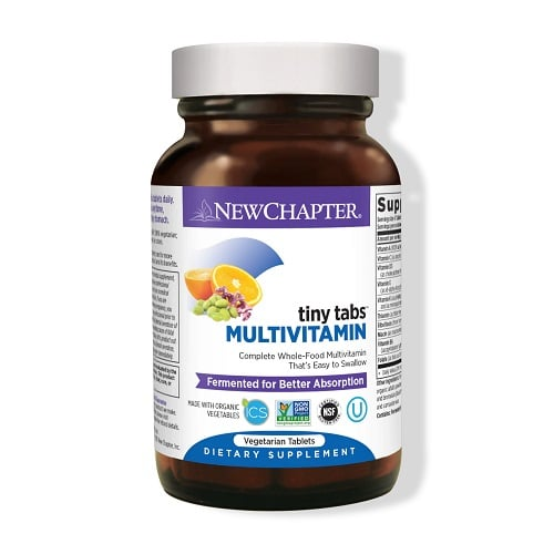 Best Multivitamin - New Chapter Tiny Tabs Multivitamin Review