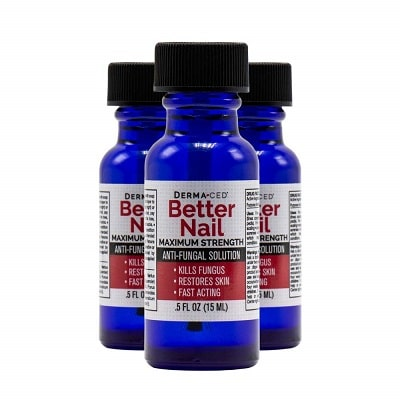 Best Nail Fungus Treatment - Derma-Ced Better Nail Maximum Strength Antifungal Solution Review