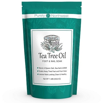 Best Nail Fungus Treatment - Purely Northwest Tea Tree Oil Foot & Nail Soak Review