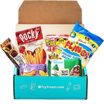 Best Snack Subscription Boxes - Best Snack Subscription Boxes - Treats Snack Subscription Box