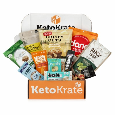 Best Snack Subscription Boxes - Keto Krate Snack Subscription Box