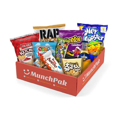 Best Snack Subscription Boxes - MunchPak Snack Subscription Box