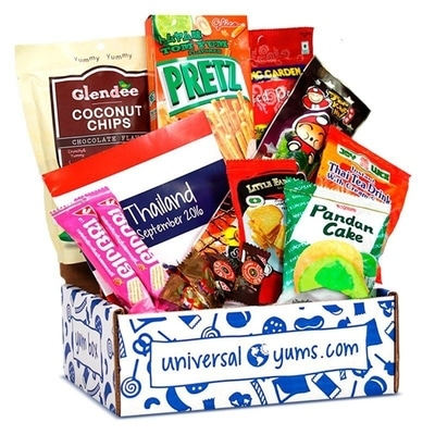 Best Snack Subscription Boxes - UniversalYums Snack Subscription Box