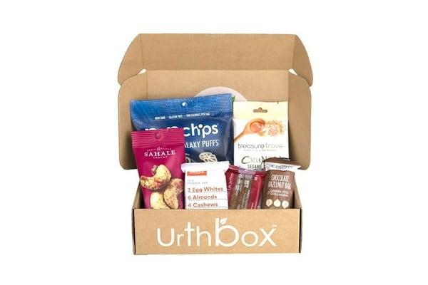 Best Snack Subscription Boxes - UrthBox Snack Subscription Box