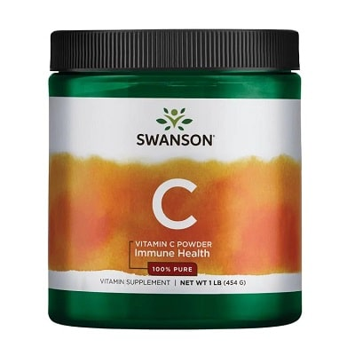 Best Vitamin C Supplement - Swanson Vitamin C Powder — 100% Pure Review
