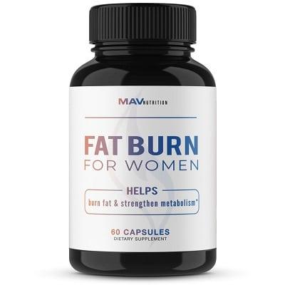 Best Appetite Suppressant - MAV Nutrition Fat Burn for Women Review