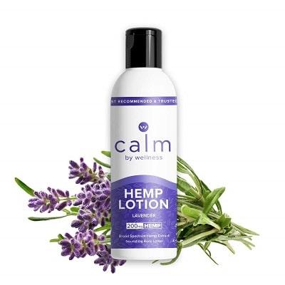 Best CBD Lotion - Calm by Wellness Hemp CBD Lavender Lotion Review