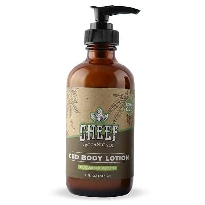 Best CBD Lotion - Cheef Botanicals CBD Lotion Review